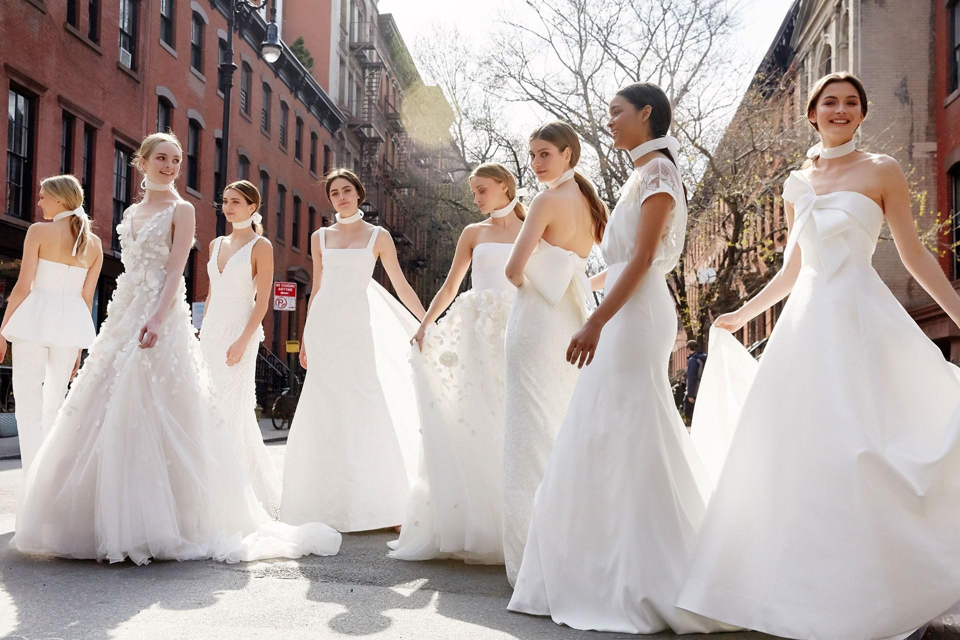 Tendências para vestidos de noiva direto da Bridal Week