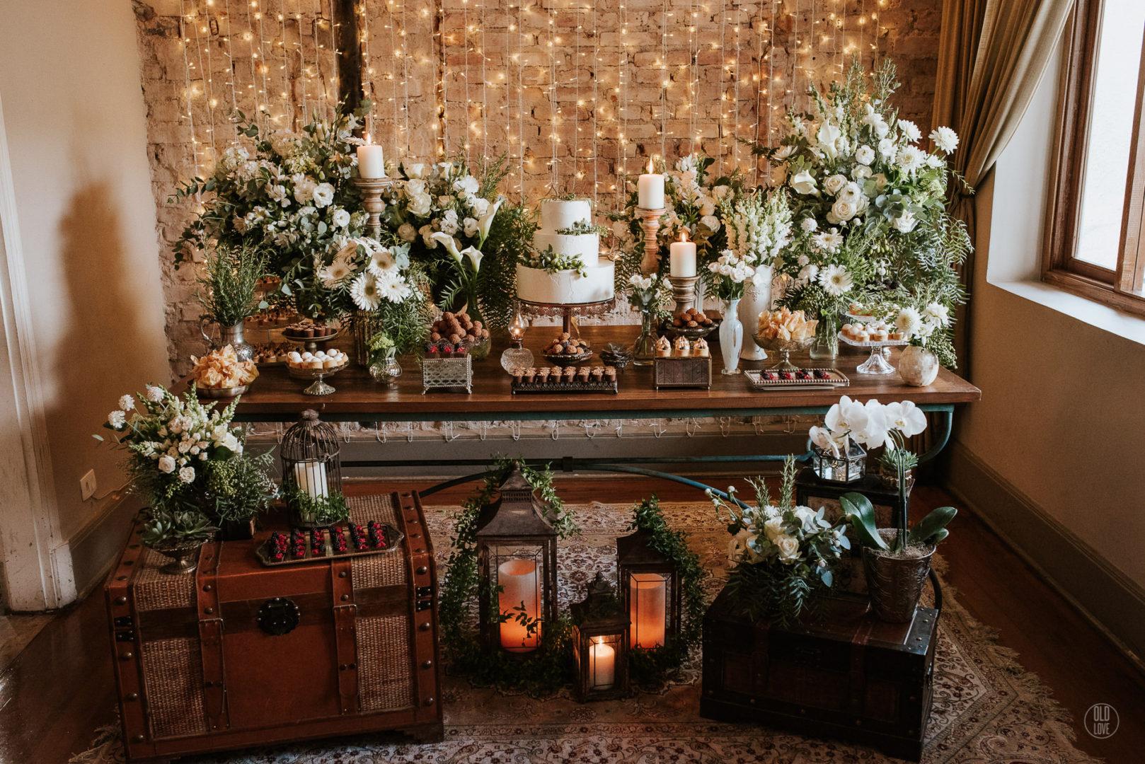 decoração para miniwedding
