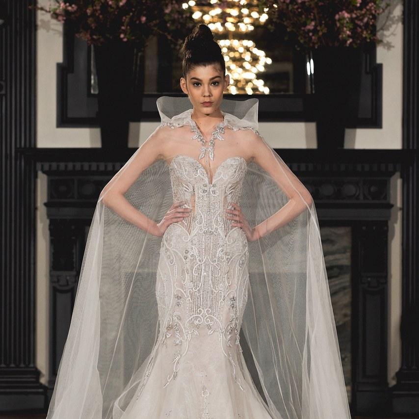 NY Bridal Week: Os vestidos de noiva de Ines Di Santo