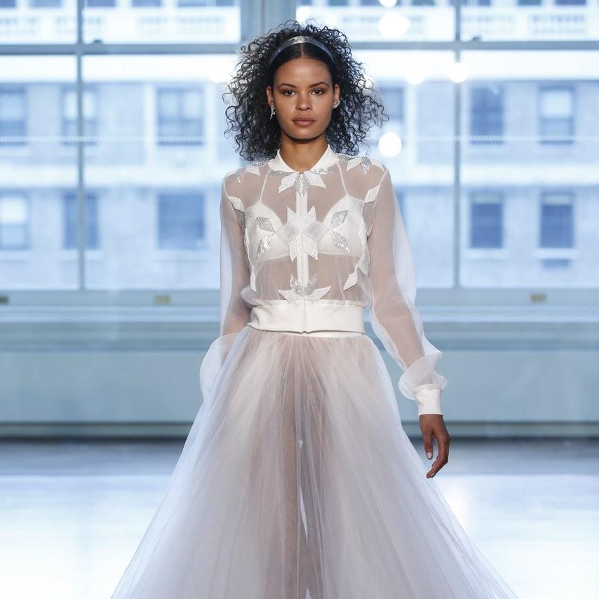 NY Bridal Week: Os vestidos de noiva de Justin Alexander