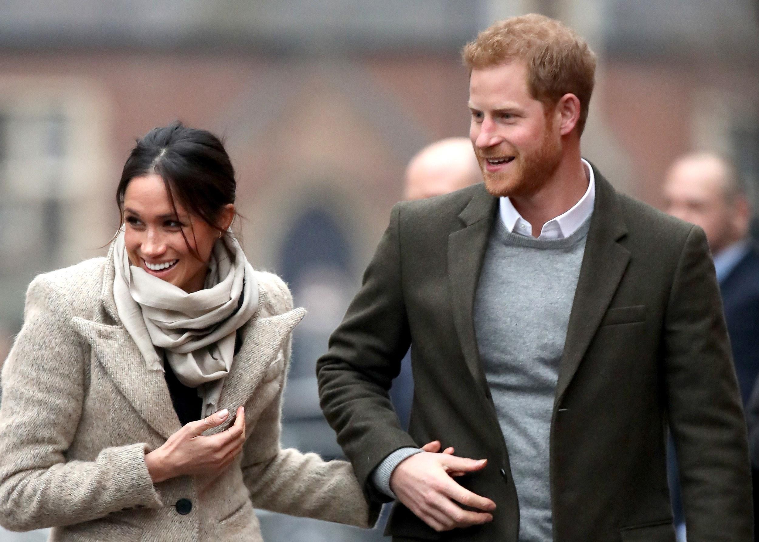 Príncipe Harry e Meghan Markle pedem doações em vez de presentes de casamento