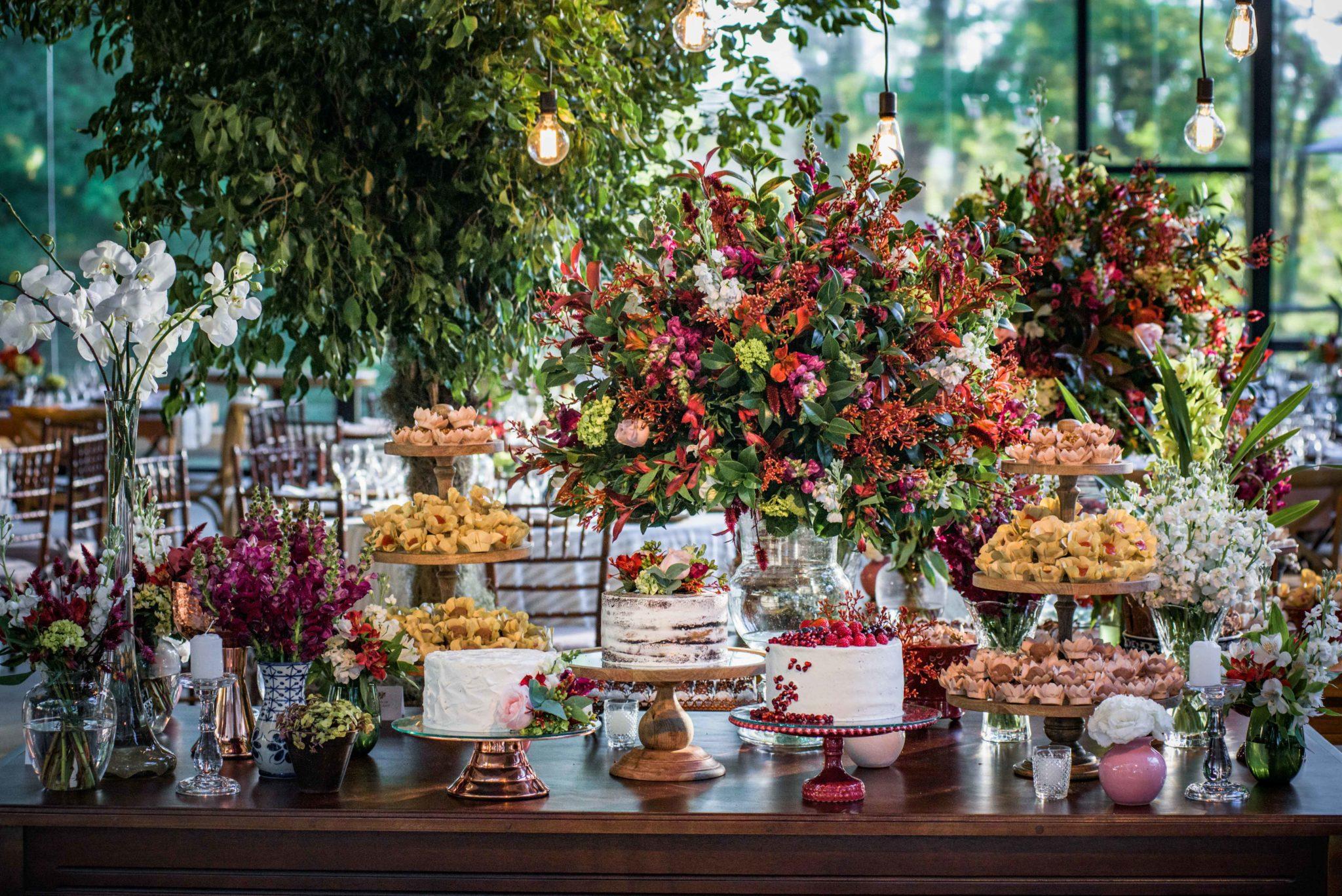 Mesa de doces para miniwedding