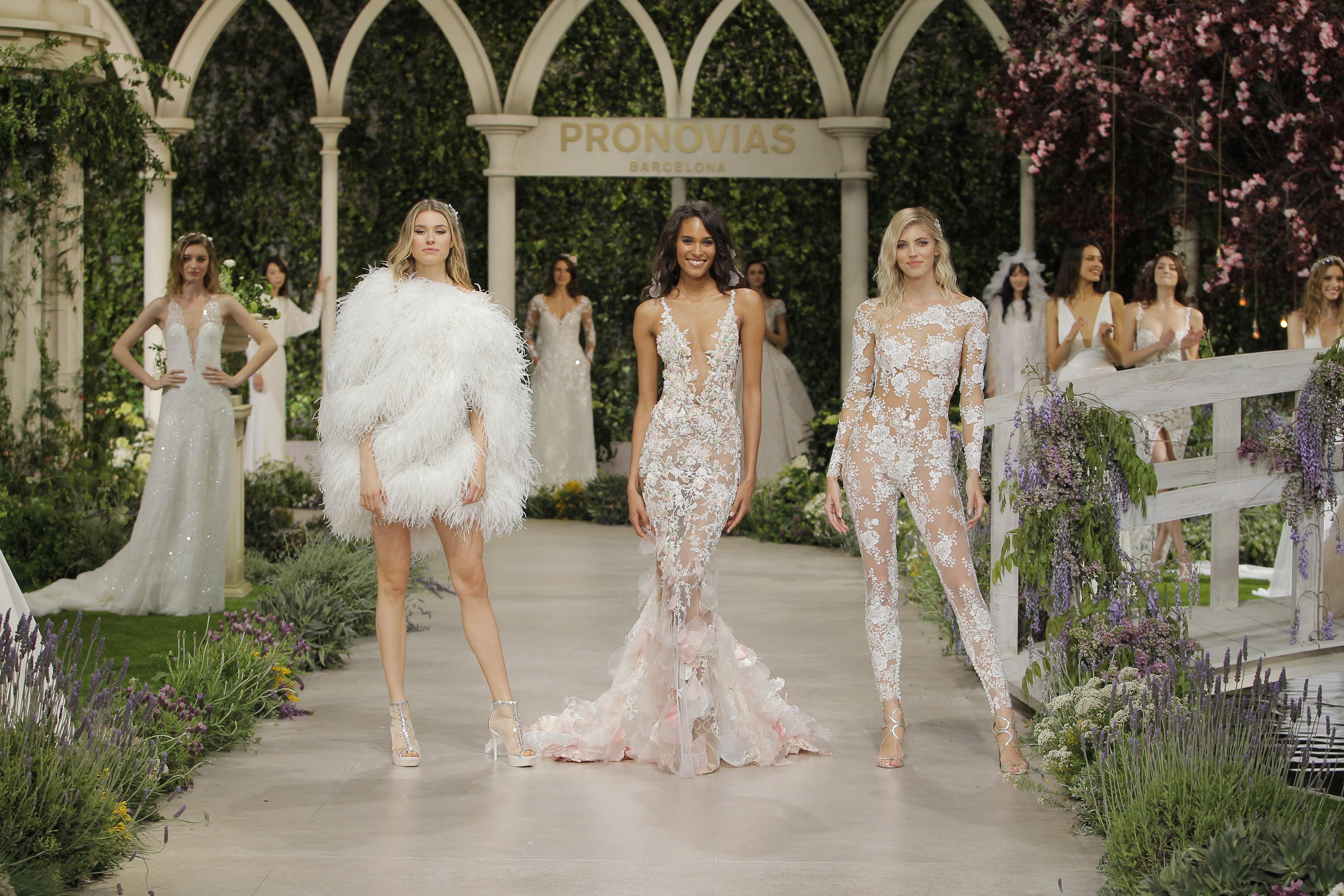 Nova coleção dos vestidos de noiva Pronovias