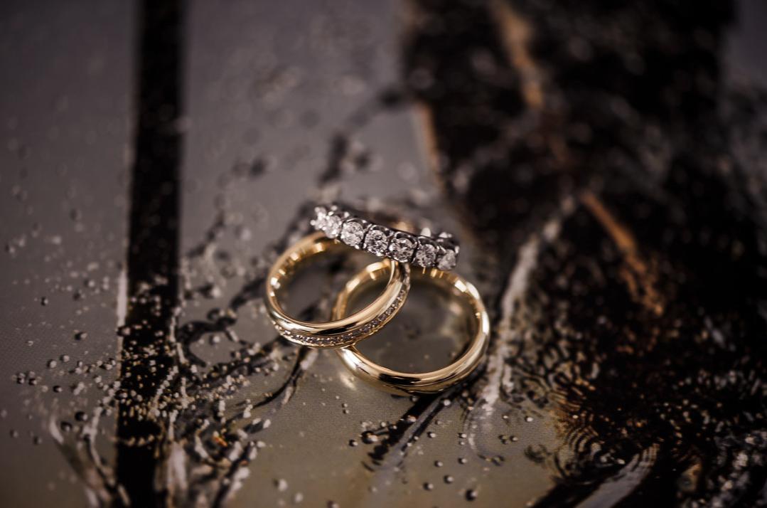 alianças do casamento