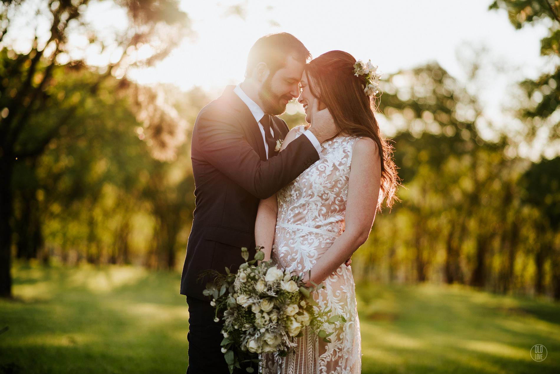 Casamento no campo ao ar livre: Taís e Denis