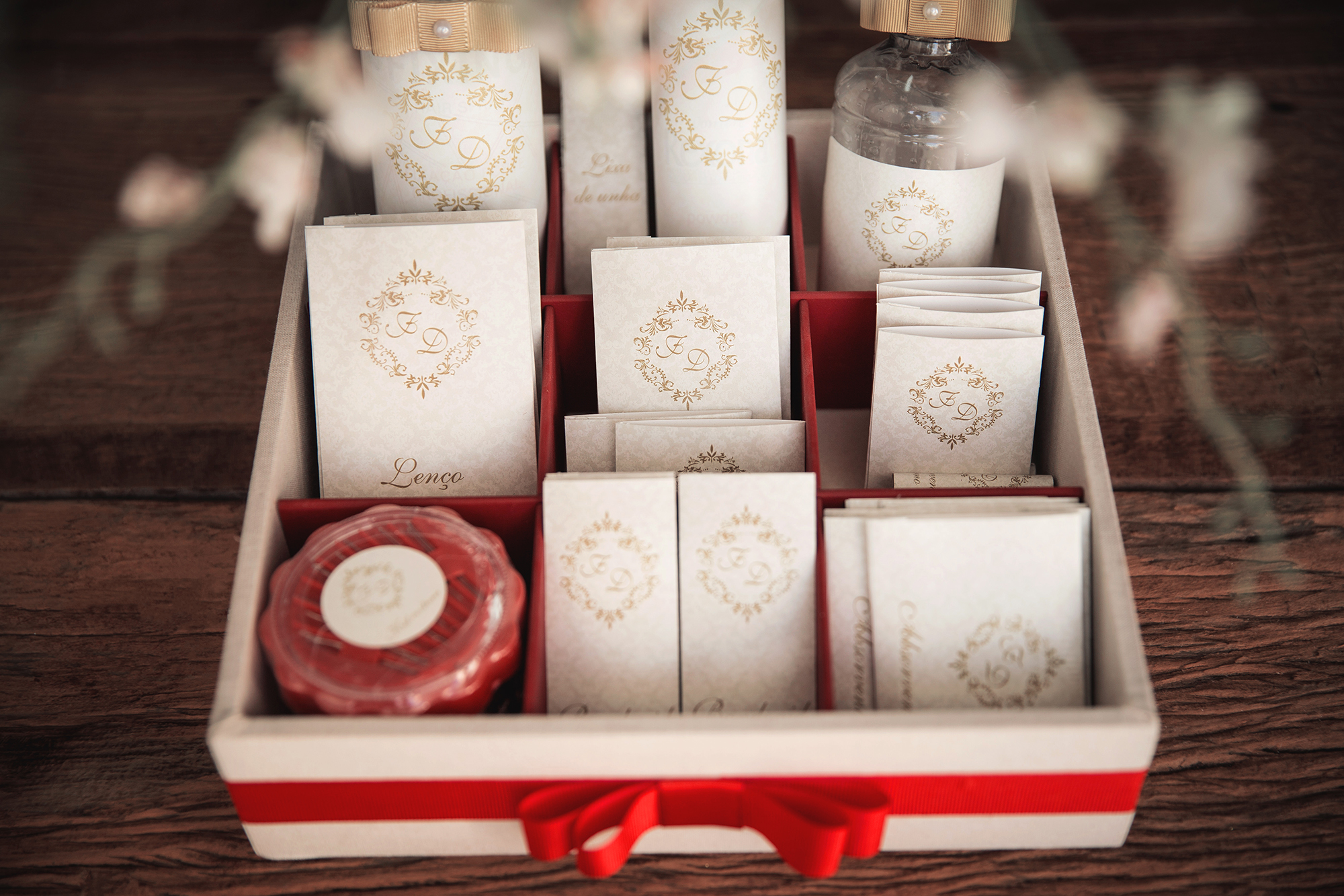 Kit toilette para casamento: O que não pode faltar