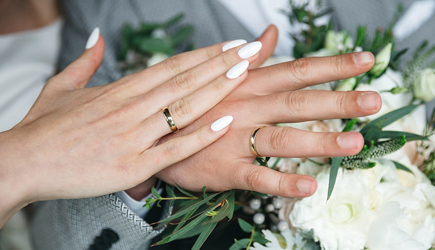 Alianças do casamento | 21 ideias lindas de fotos