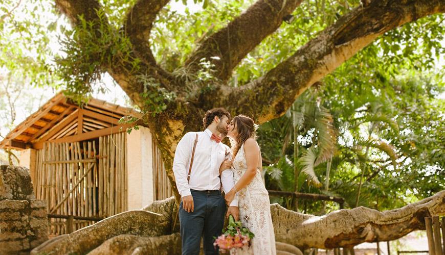Mini wedding romântico em Campinas | Bruna e Doug