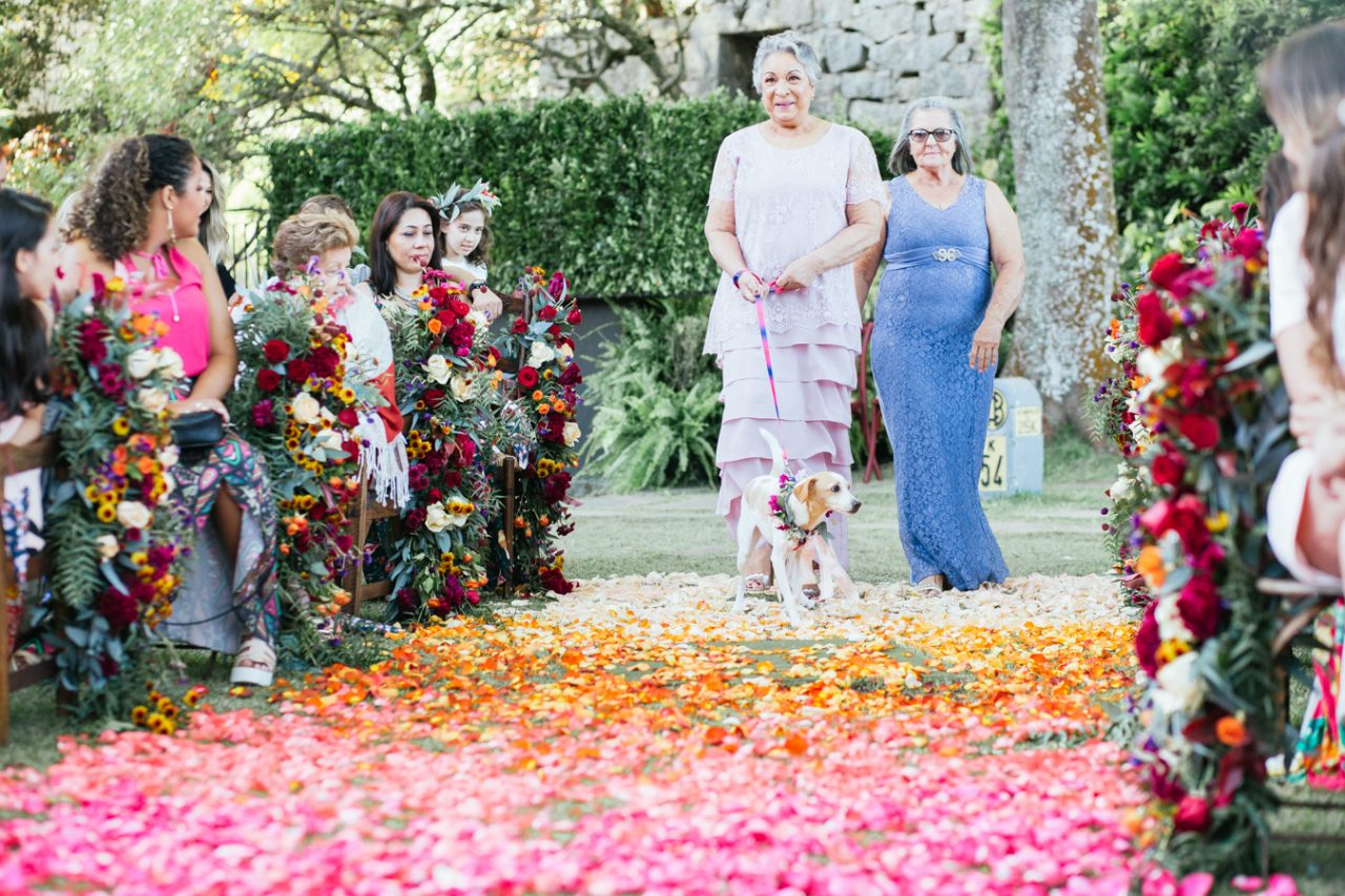 Casamento ao ar livre no Rio de Janeiro