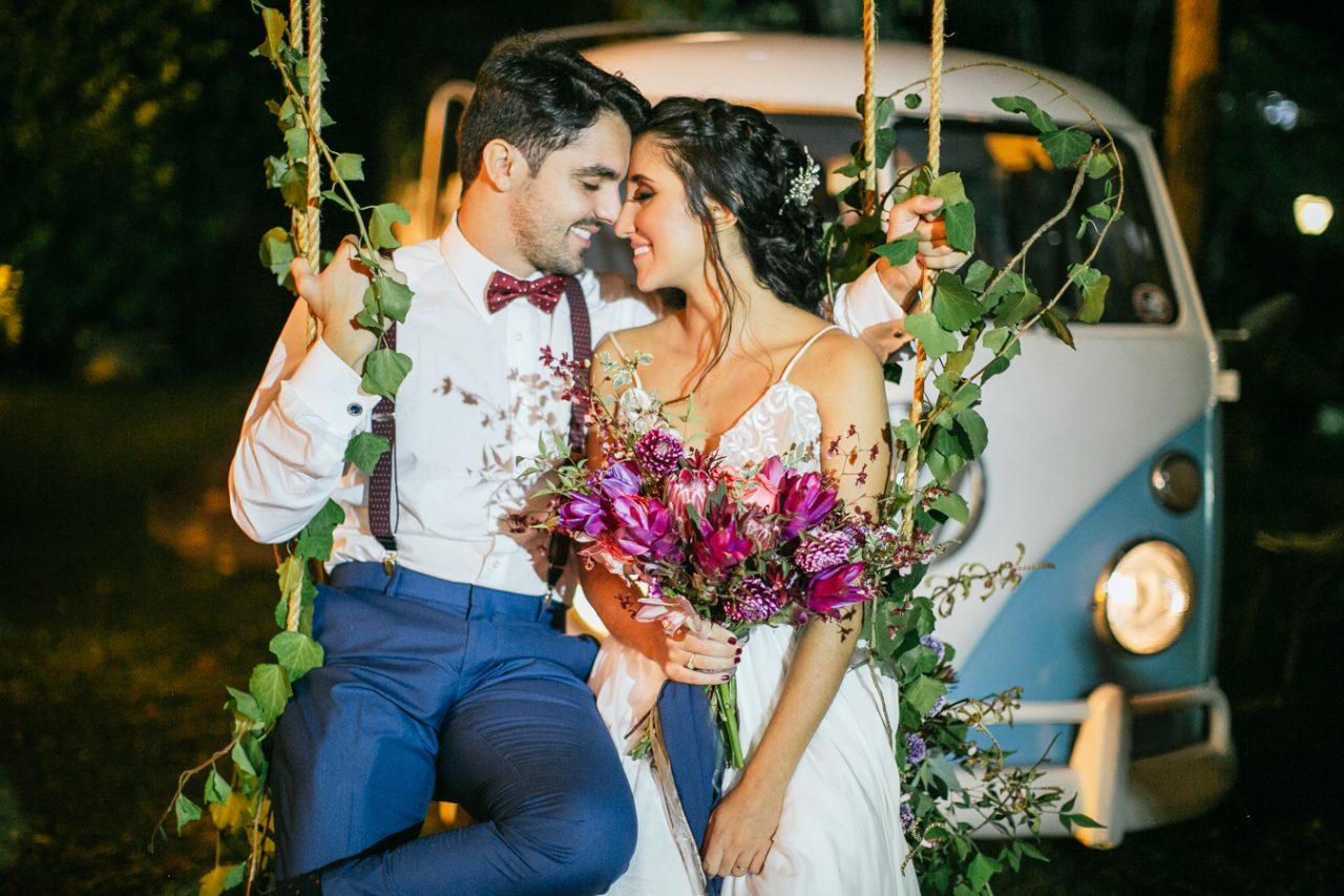 Casamento ao ar livre no Rio de Janeiro: Rebeca e Caique