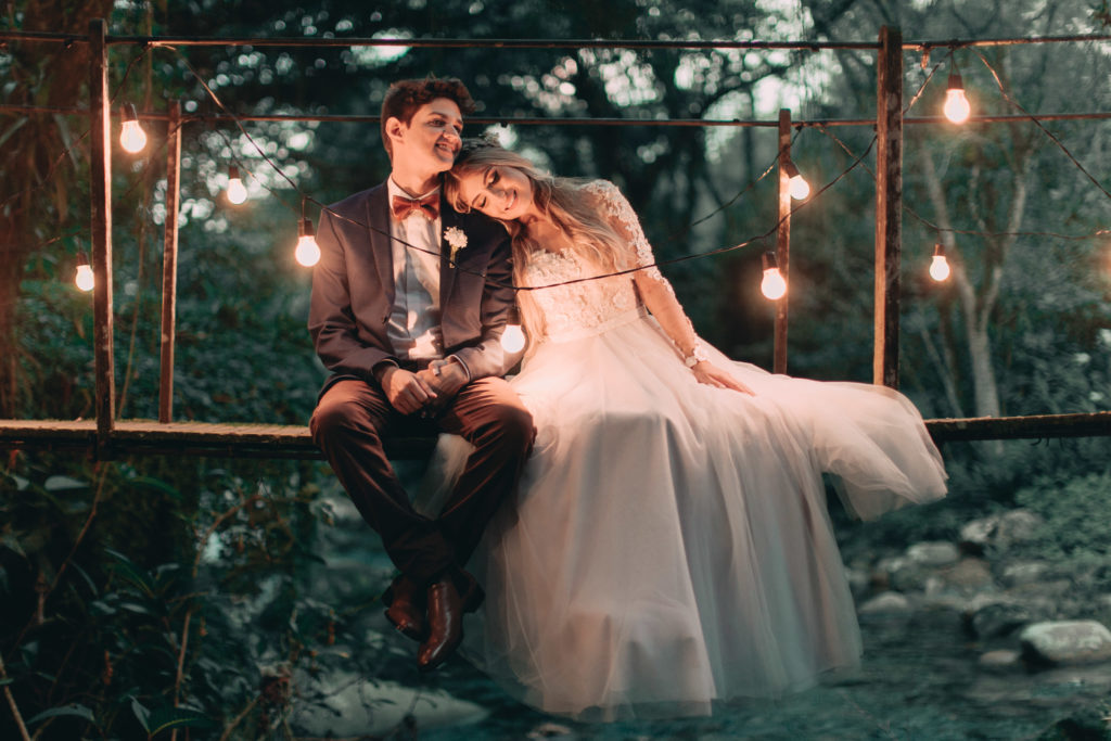 casamento rústico ao ar livre