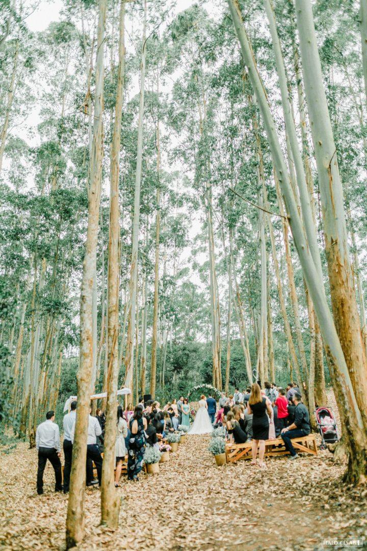 miniwedding rústico na floresta