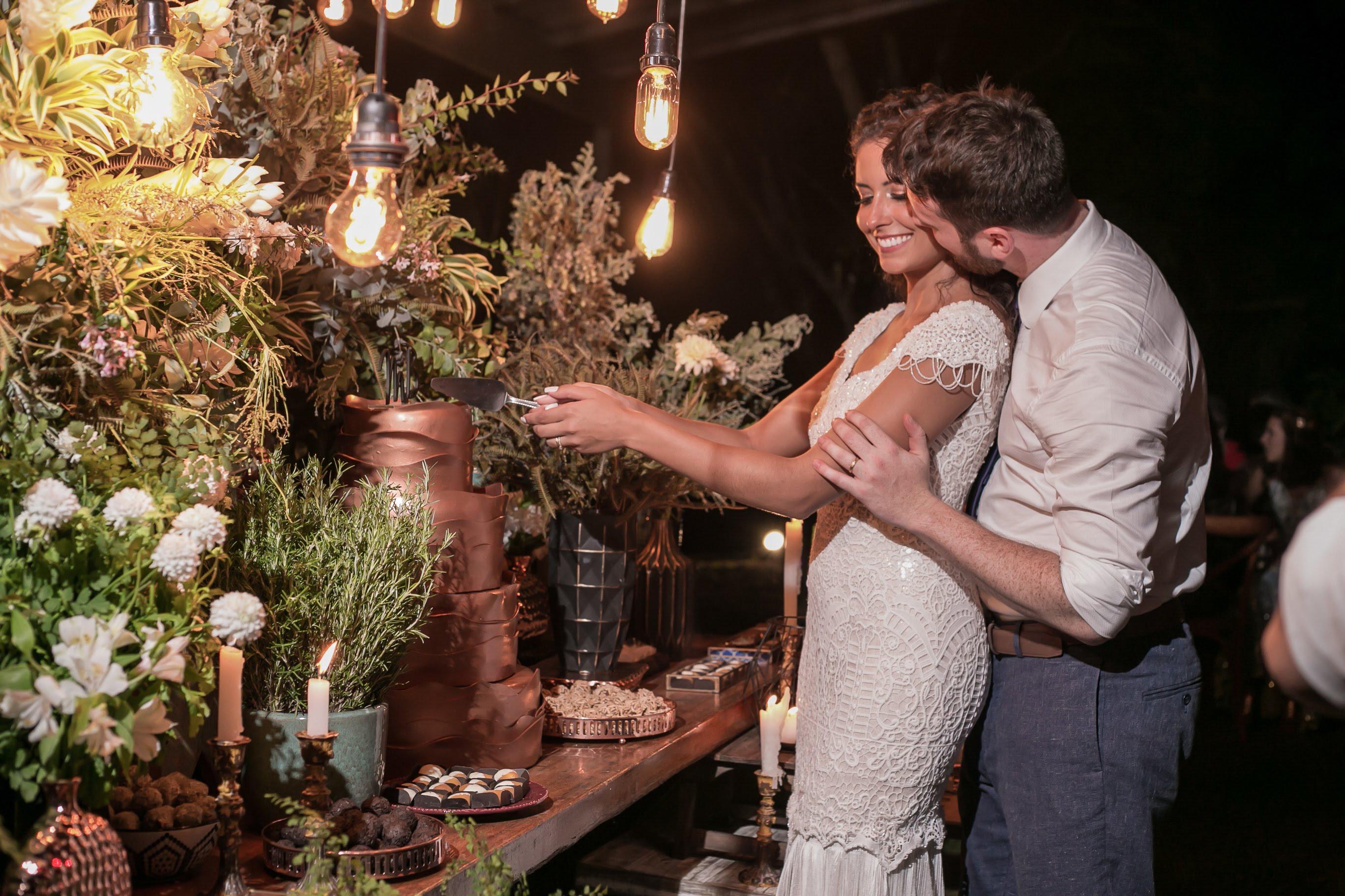 Casamento rústico chique no campo: Maíra e Bruno