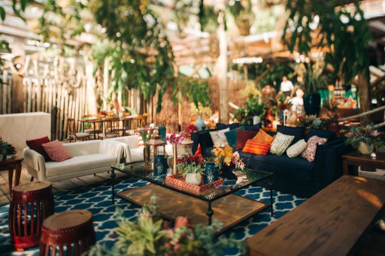 Lounges para casamento: como decorar