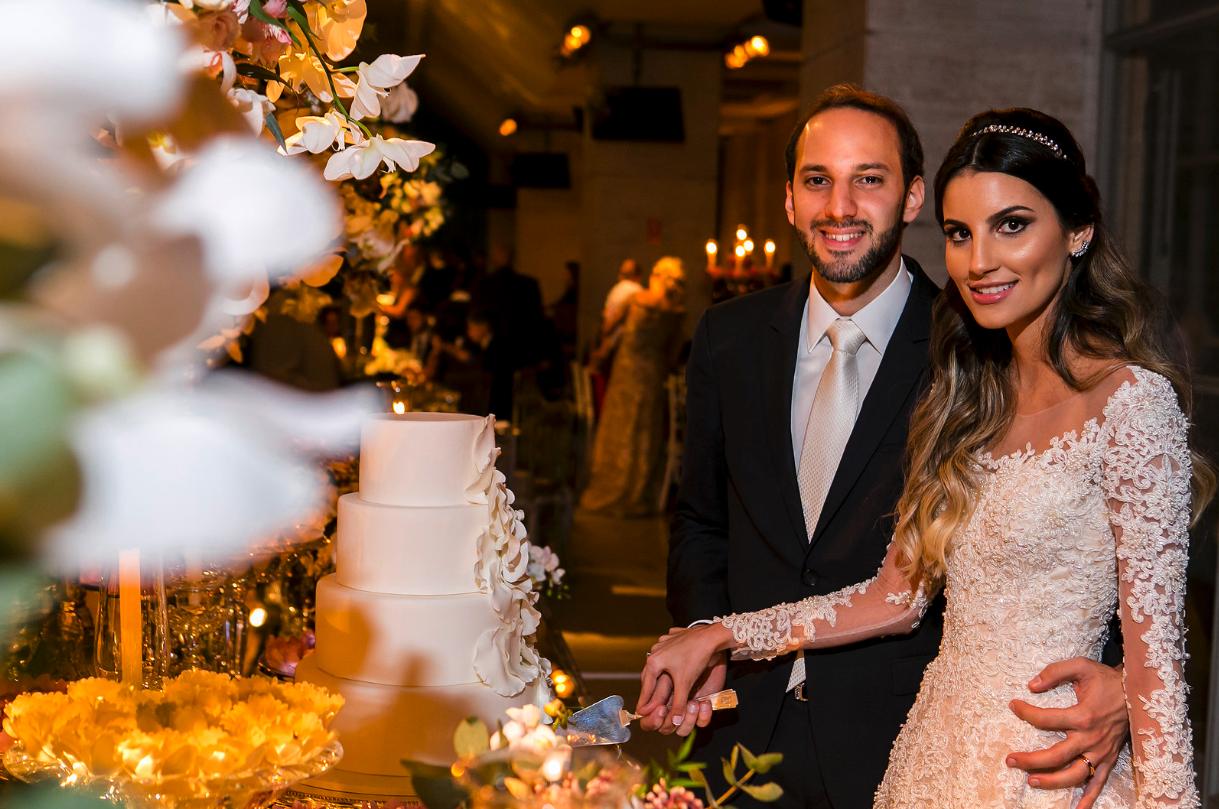 Casamento clássico em São Paulo: Karen e Claudio