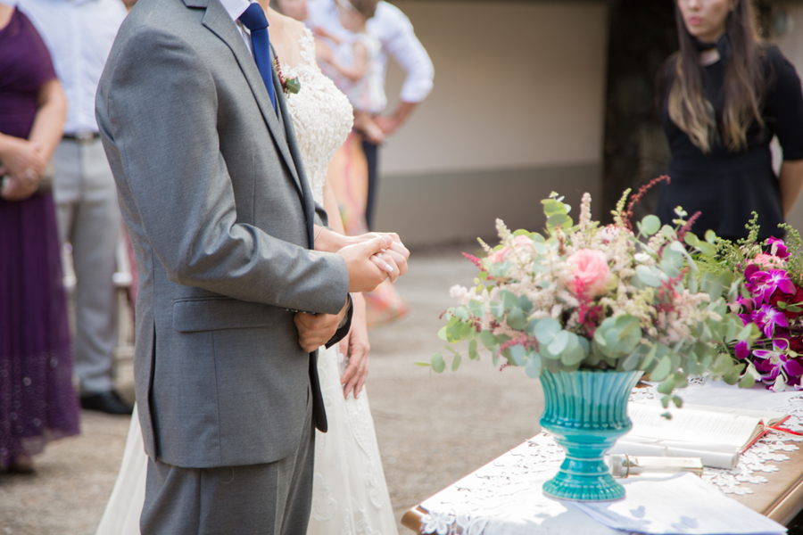 miniwedding rústico colorido