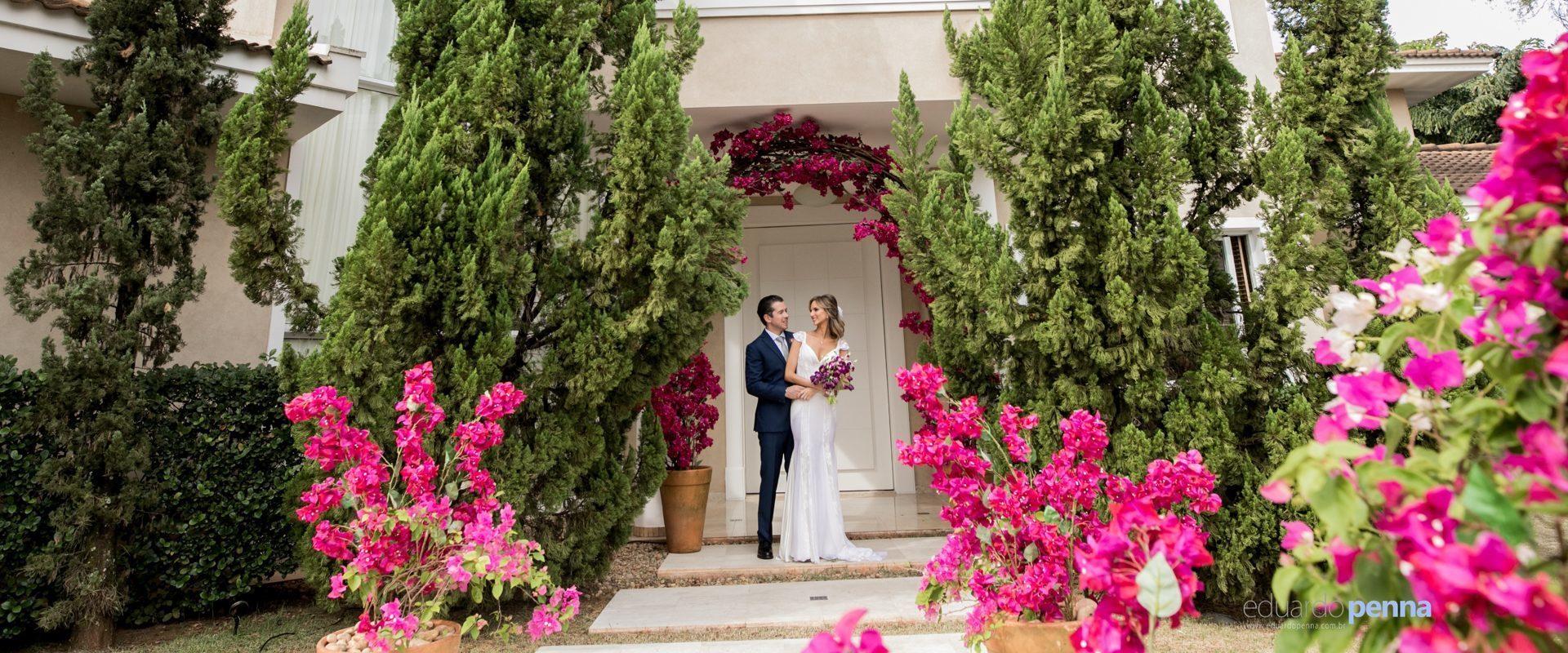 Casamento em casa: Larissa e Juliano