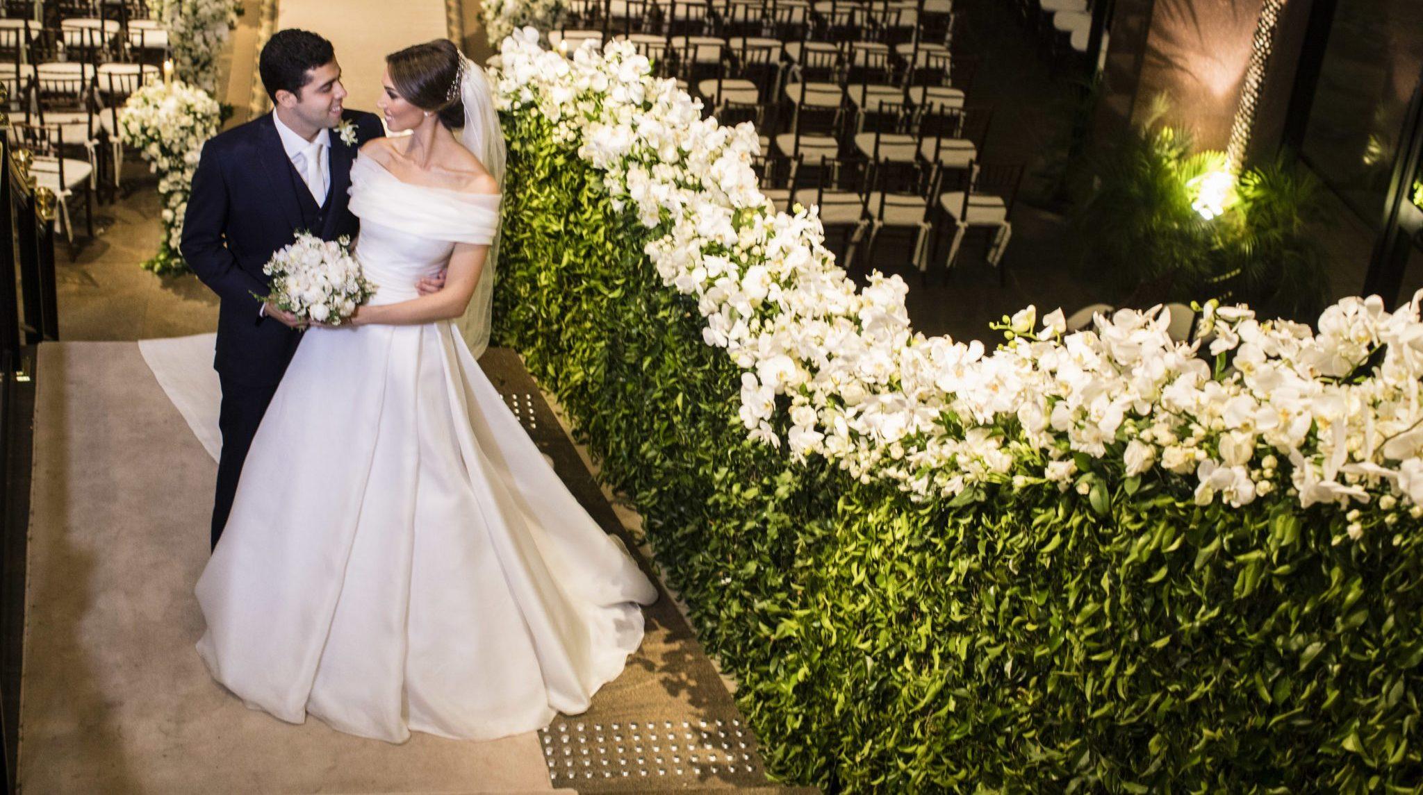 Casamento clássico: Bianca e José