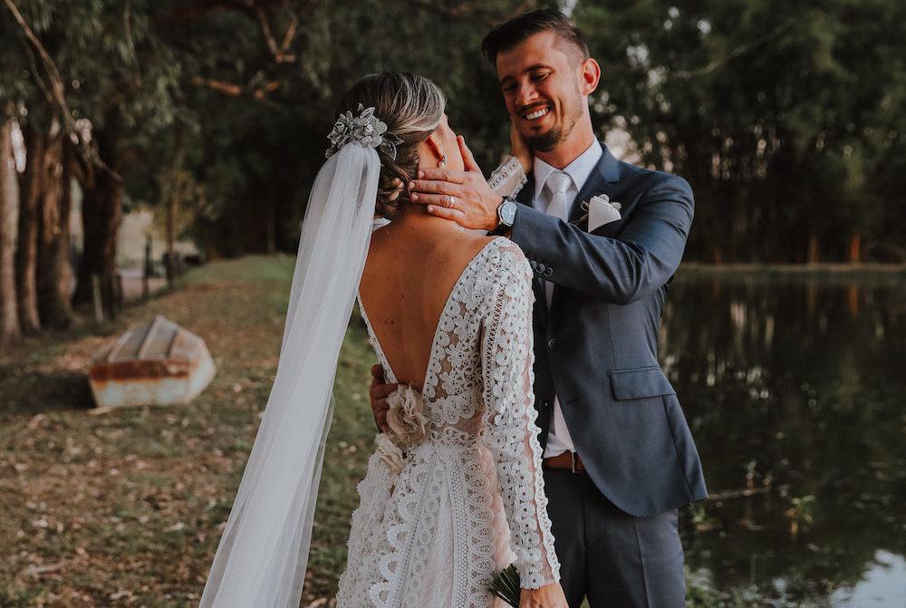 Casamento clássico na fazenda: Bruna e Eduardo