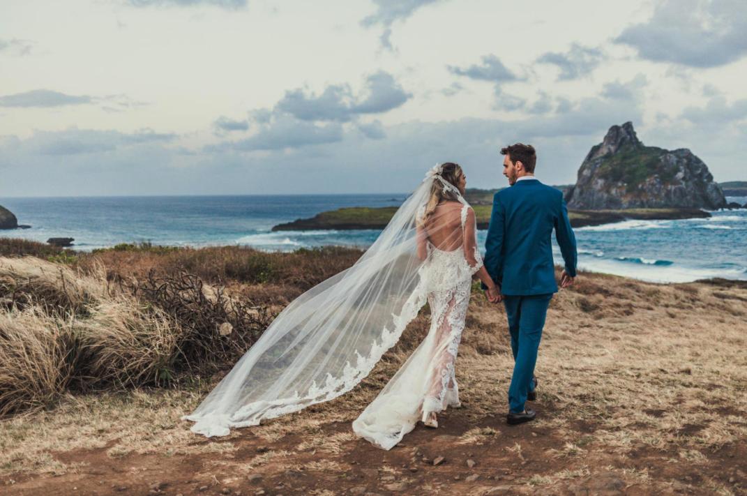 Destination wedding em Fernando de Noronha: Lina e Gui