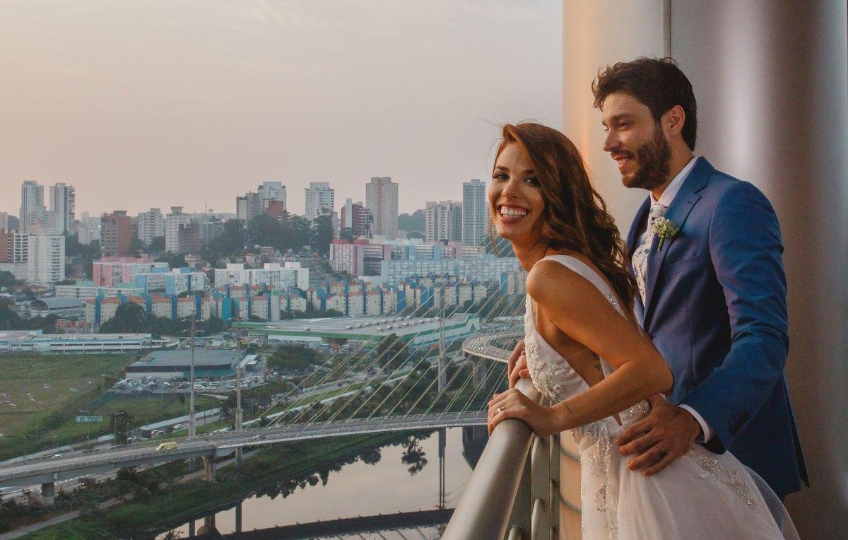 Casamento no Grand Hyatt: Mama Maluf e Marco Fenili