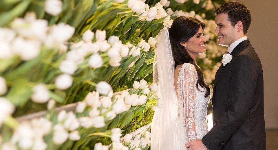 Casamento clássico em São Paulo: Daniela e Felipe