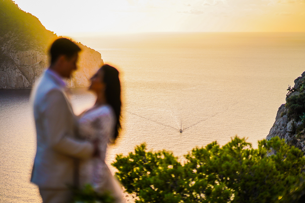 Destination wedding em Ibiza: Bruna e Rodrigo