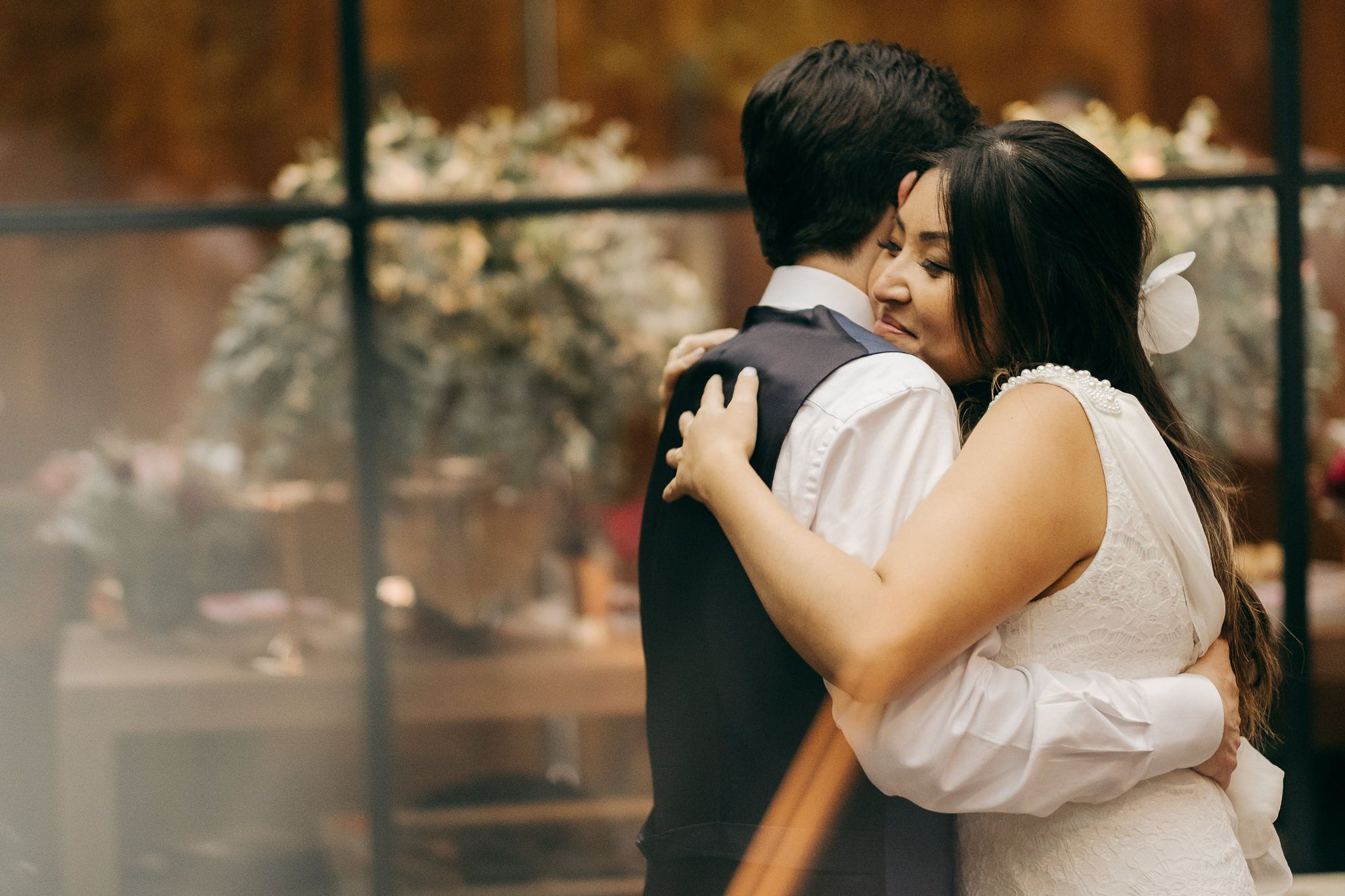 miniwedding romântico em um restaurante