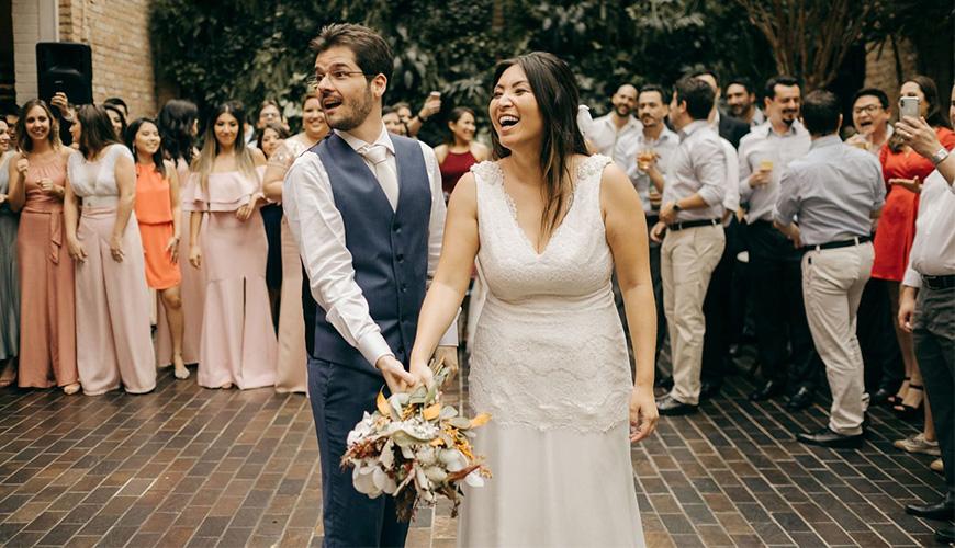 Mini wedding romântico em restaurante | Alessandra e Rafael