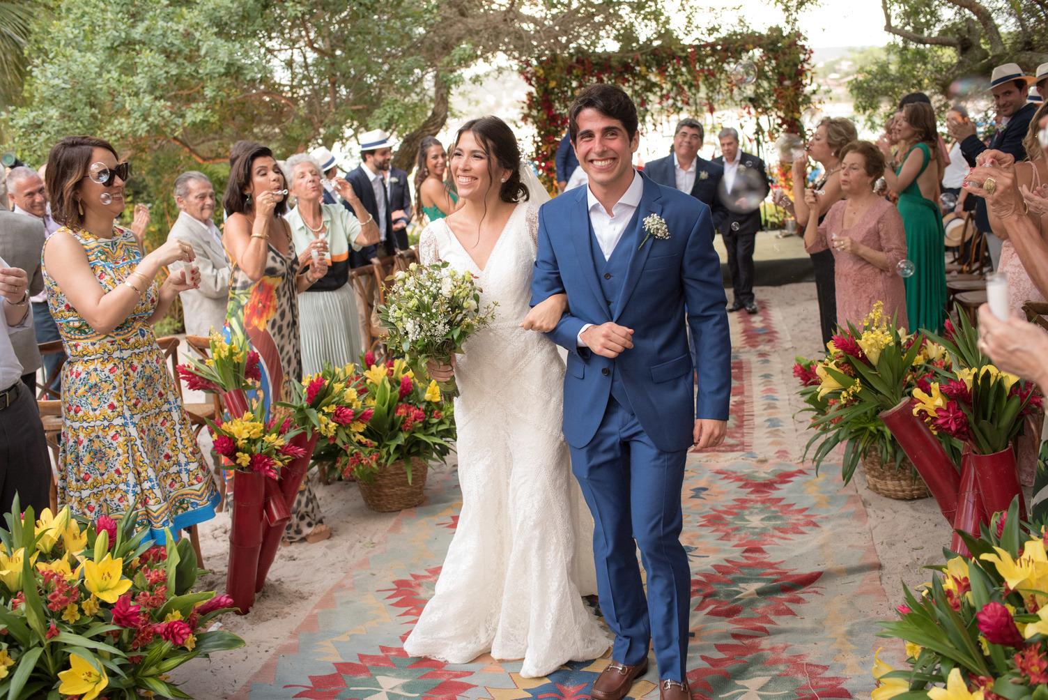 Casamento tropical em Búzios: Patrícia e Gabriel