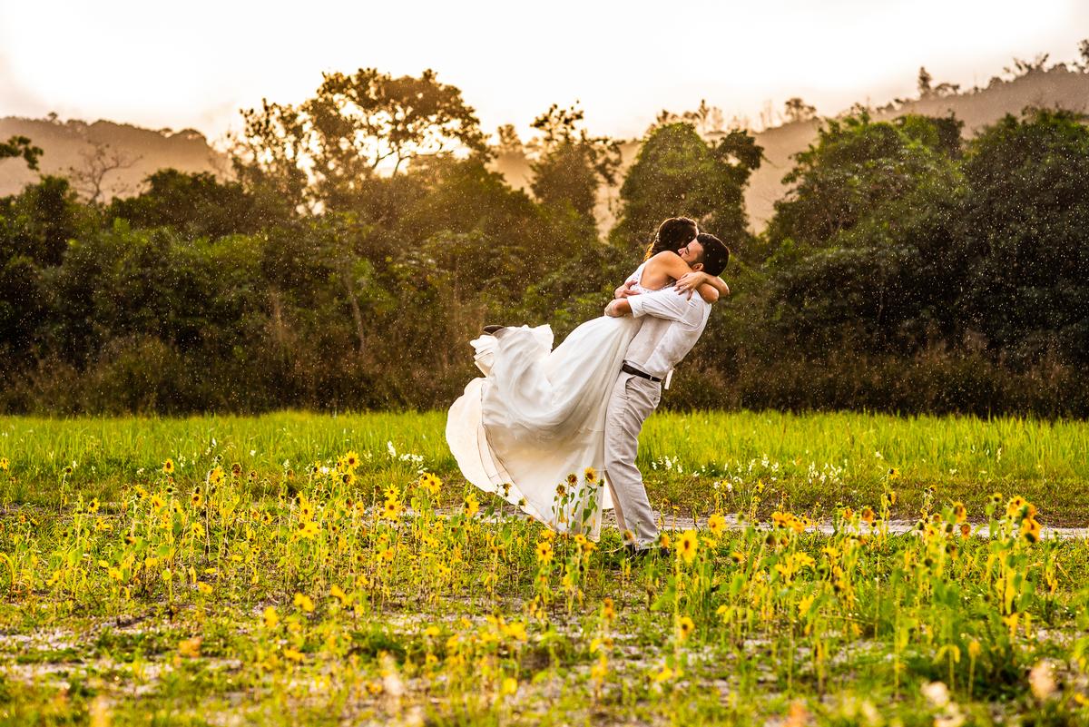 Casamento no jardim: Katryn e Thiago