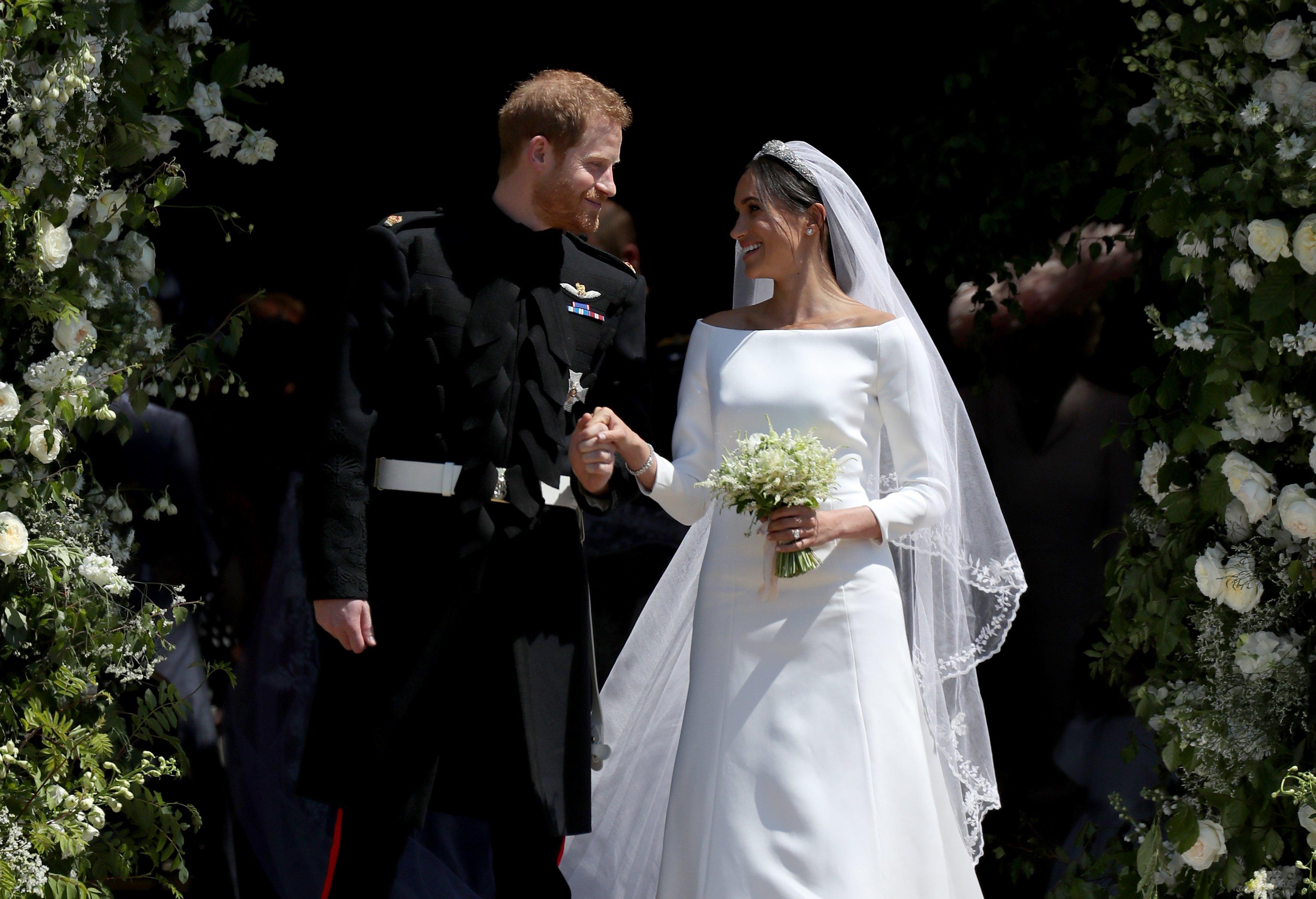 Vestidos de noiva das famosas que marcaram 2018