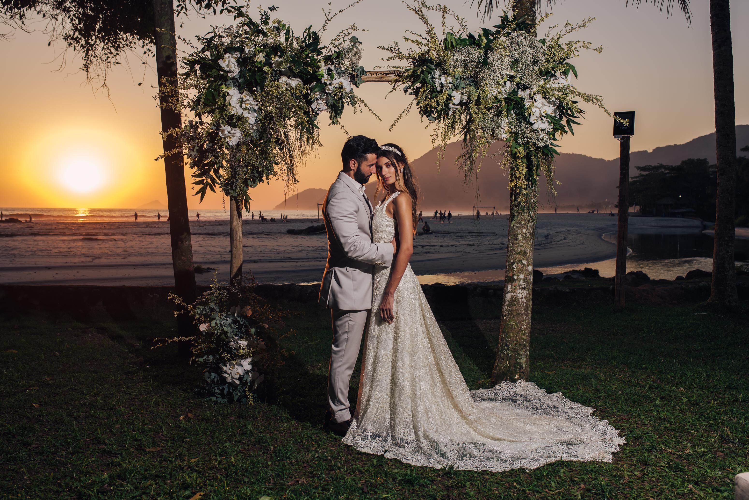 Destination wedding na praia sem sair do Brasil