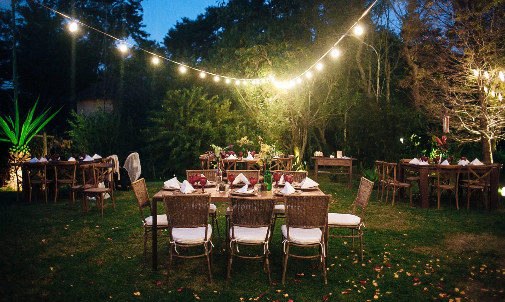 O espaço do casamento precisa de um gerador?