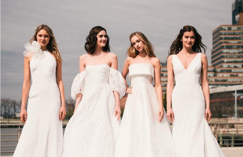 Tendências para vestido de noiva direto da Bridal Fashion Week