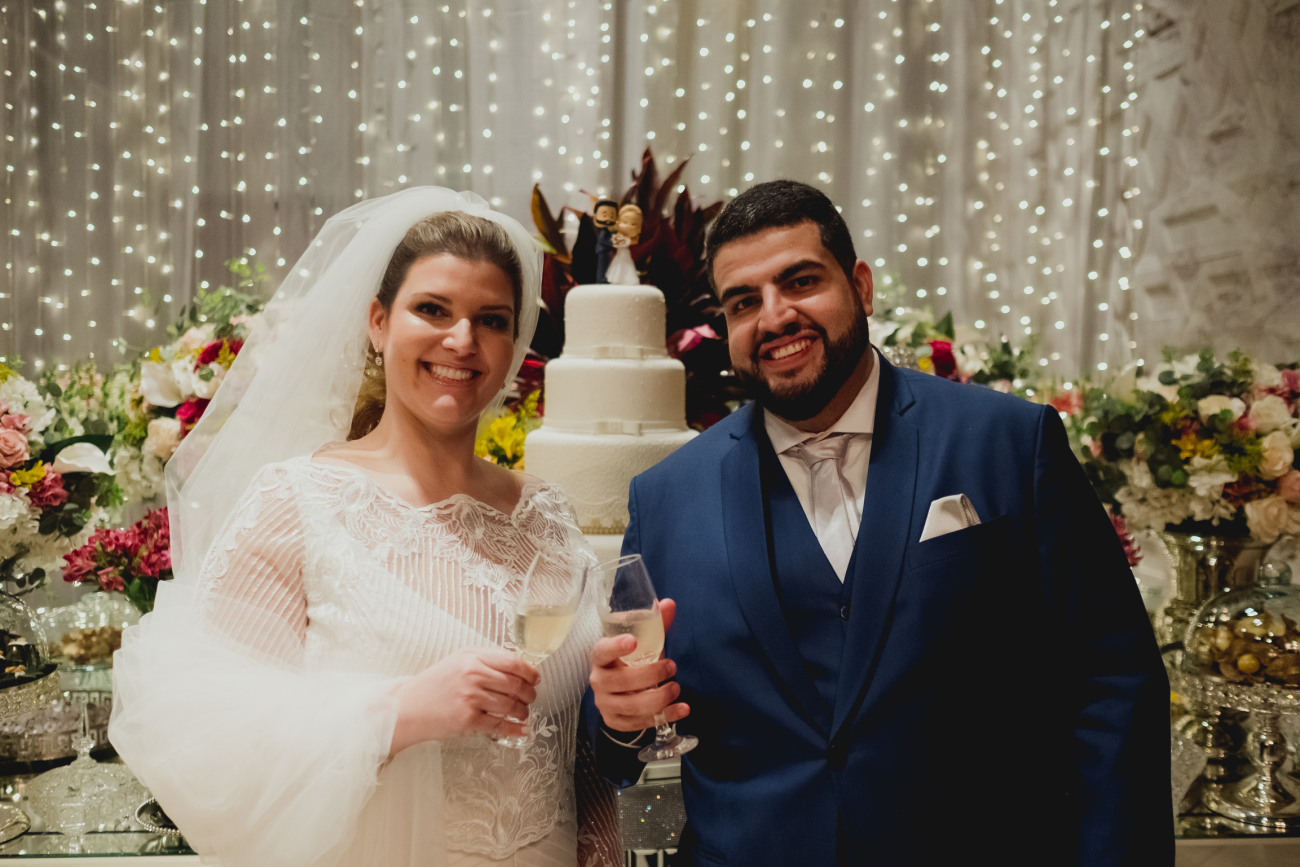 Casamento Real na pandemia: Fernanda e Alessandro