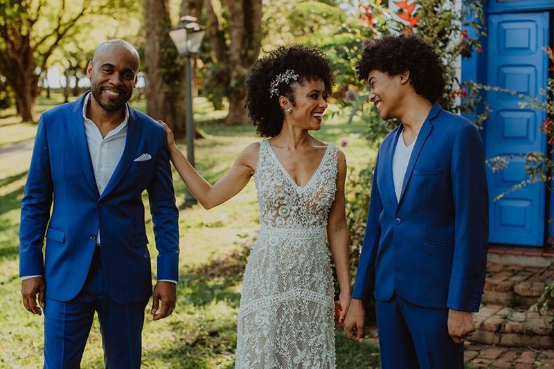 bodas de casamento, celebração em família