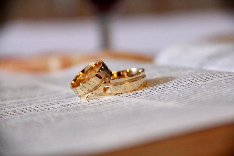 Escolha da aliança de casamento