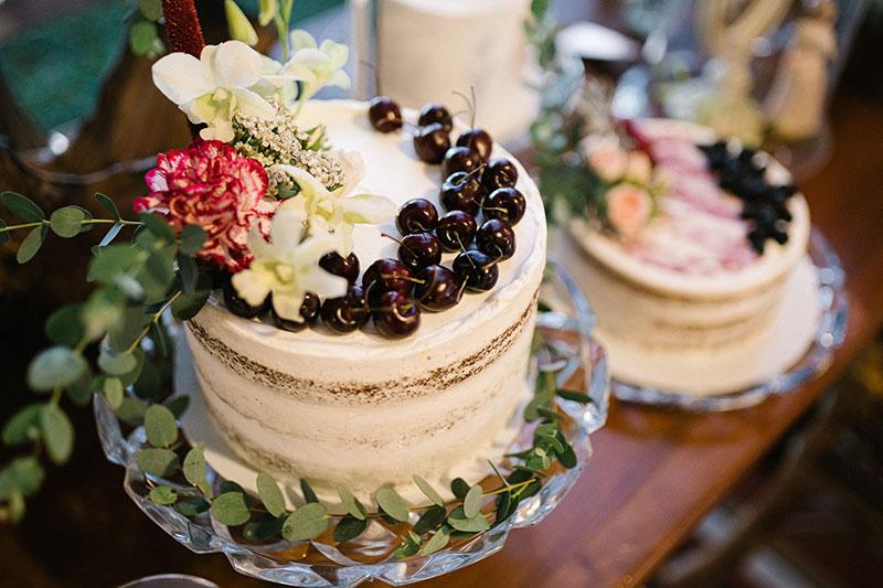 Bolos e doces para bodas de casamento
