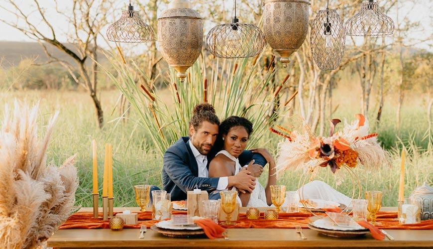 Inspirações de Casamento Moderno no Campo