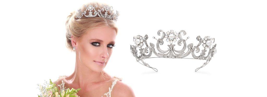 Como escolher a tiara ou coroa de aluguel