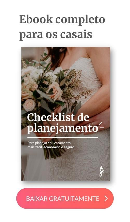 banner checklist da noiva