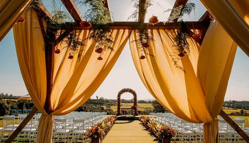 Decoração de casamento no campo | Saiba como escolher